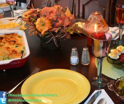Thanksgiving Dinner - Houseguard Housesitters - House Sitters Winnipeg, Manitoba